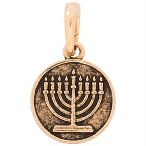 Picture of Gold Menorah Droplet